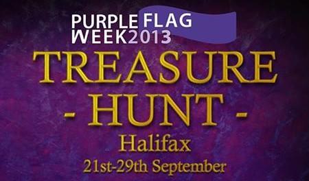 Purple flag