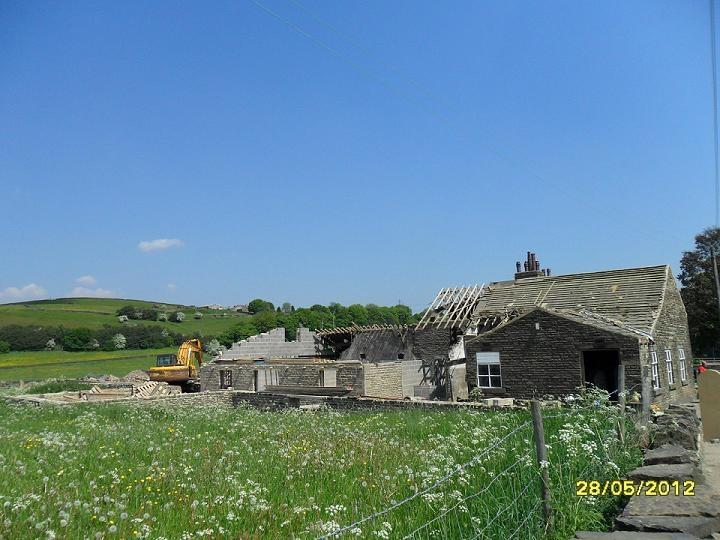 Marsh Hall barn after