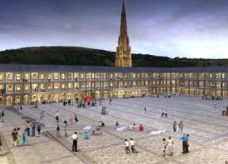Piece Hall courtyard