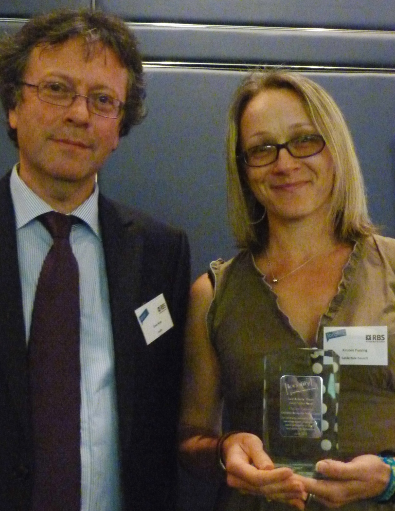 Local Authority Heroes Award - Steve Wyler and Kirsten Fussing
