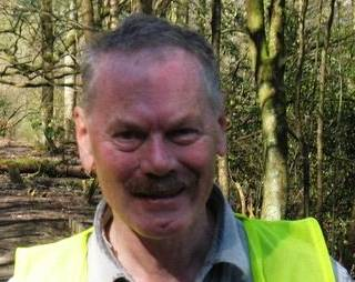 Centre Vale Park volunteer Philip Marshall