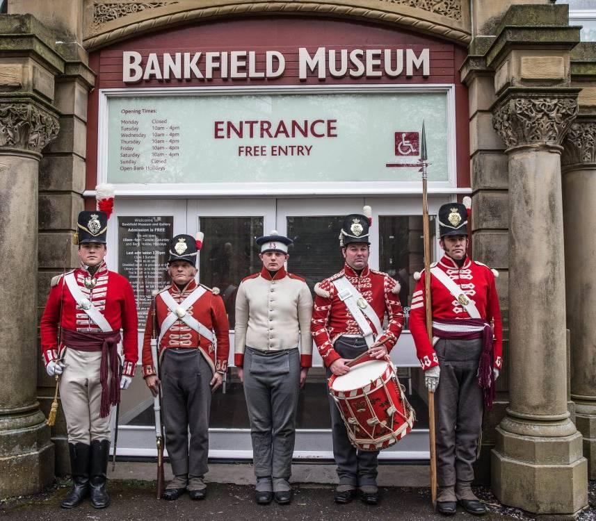 Outside Bankfield Museum