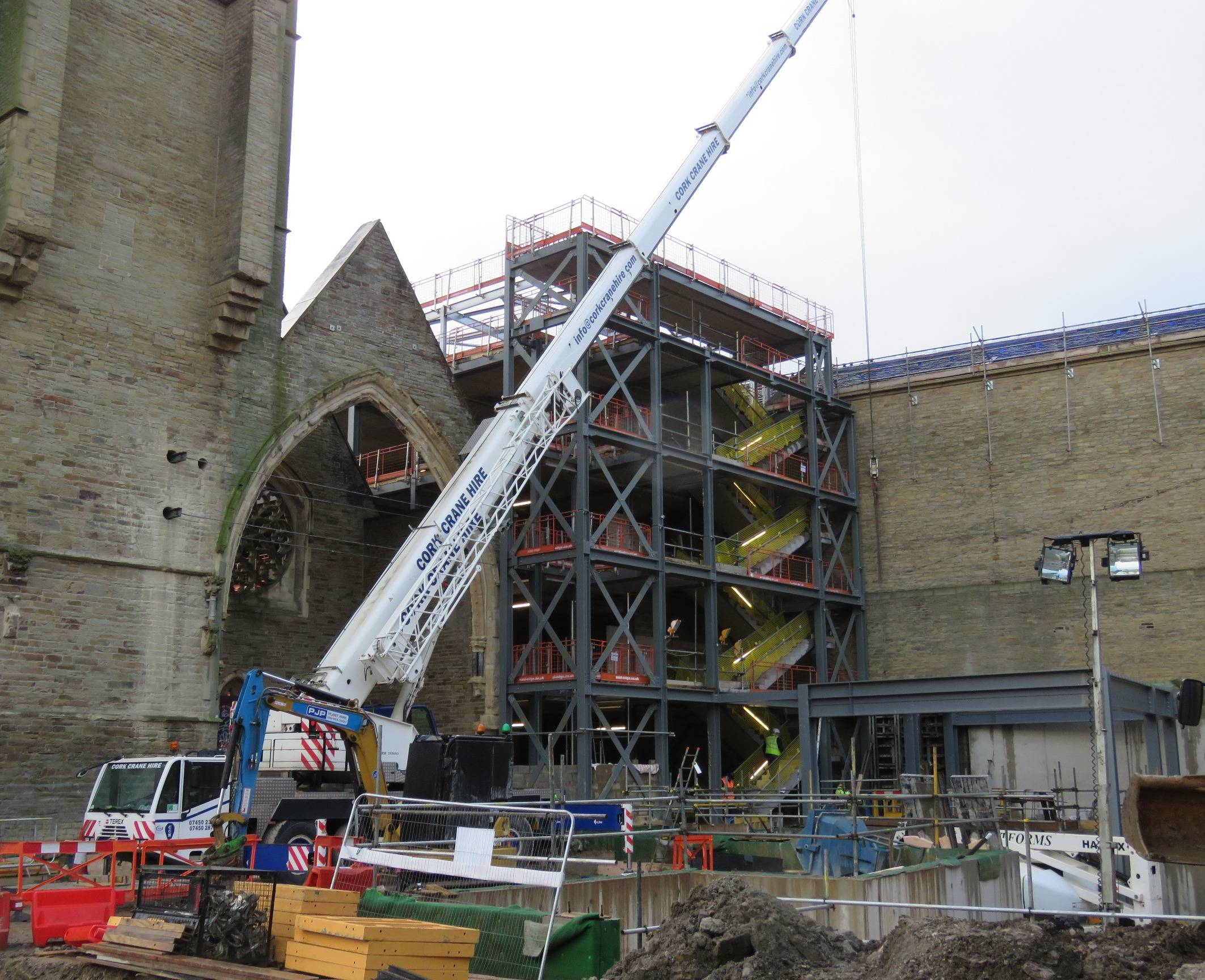 Library steelwork - image 2