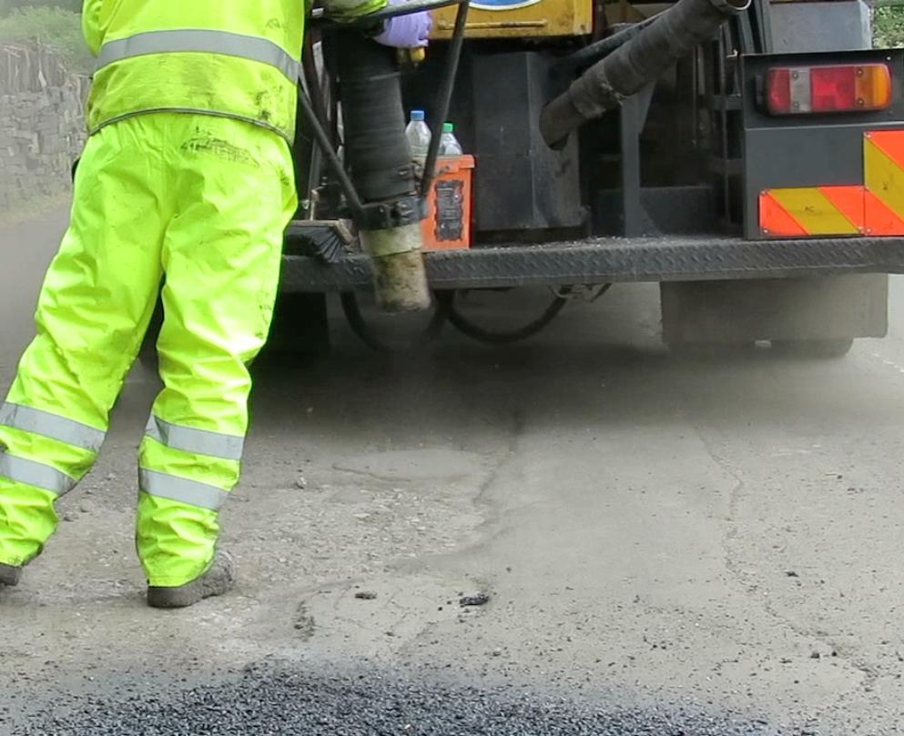 Potholes blitz
