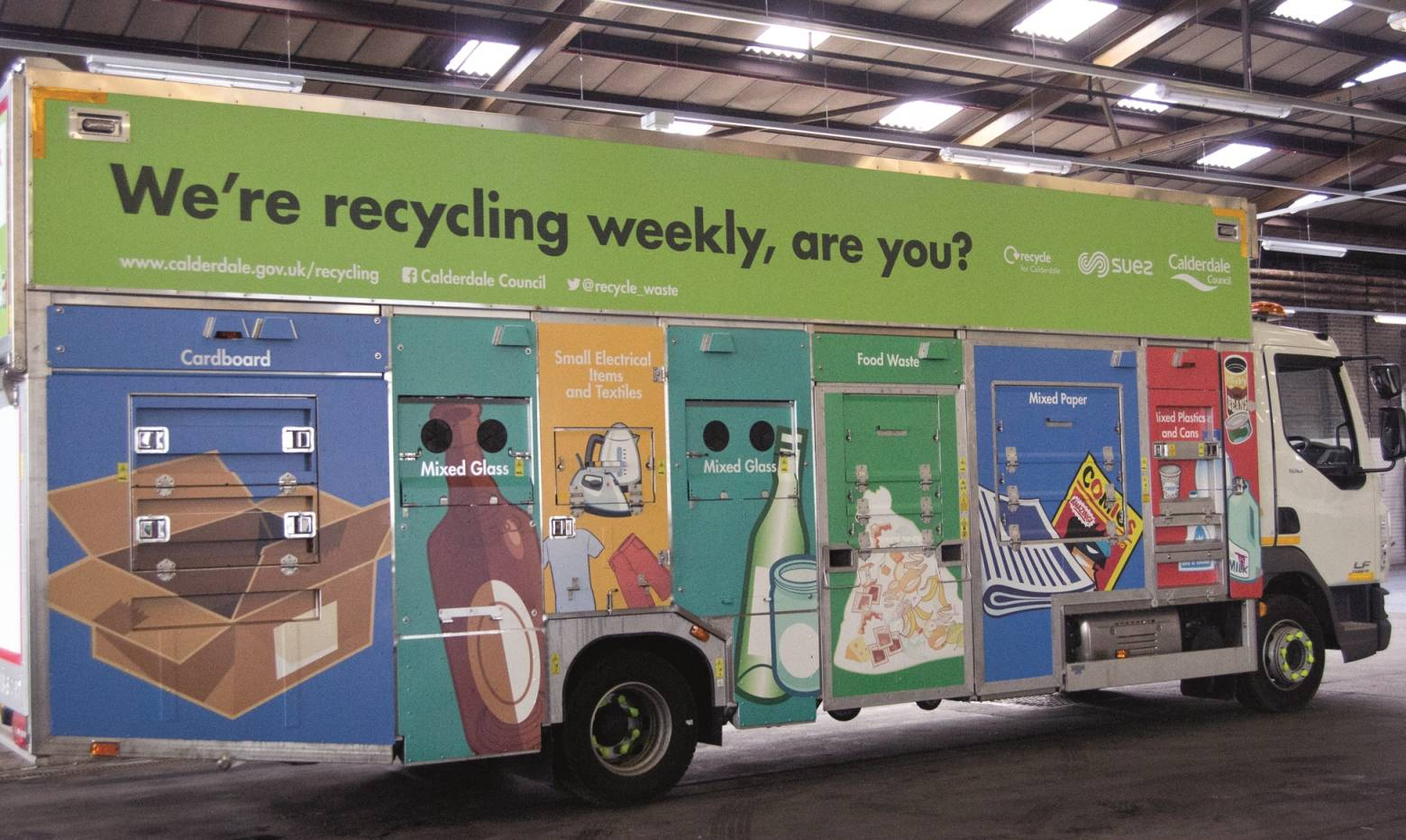 New recycling vehicle