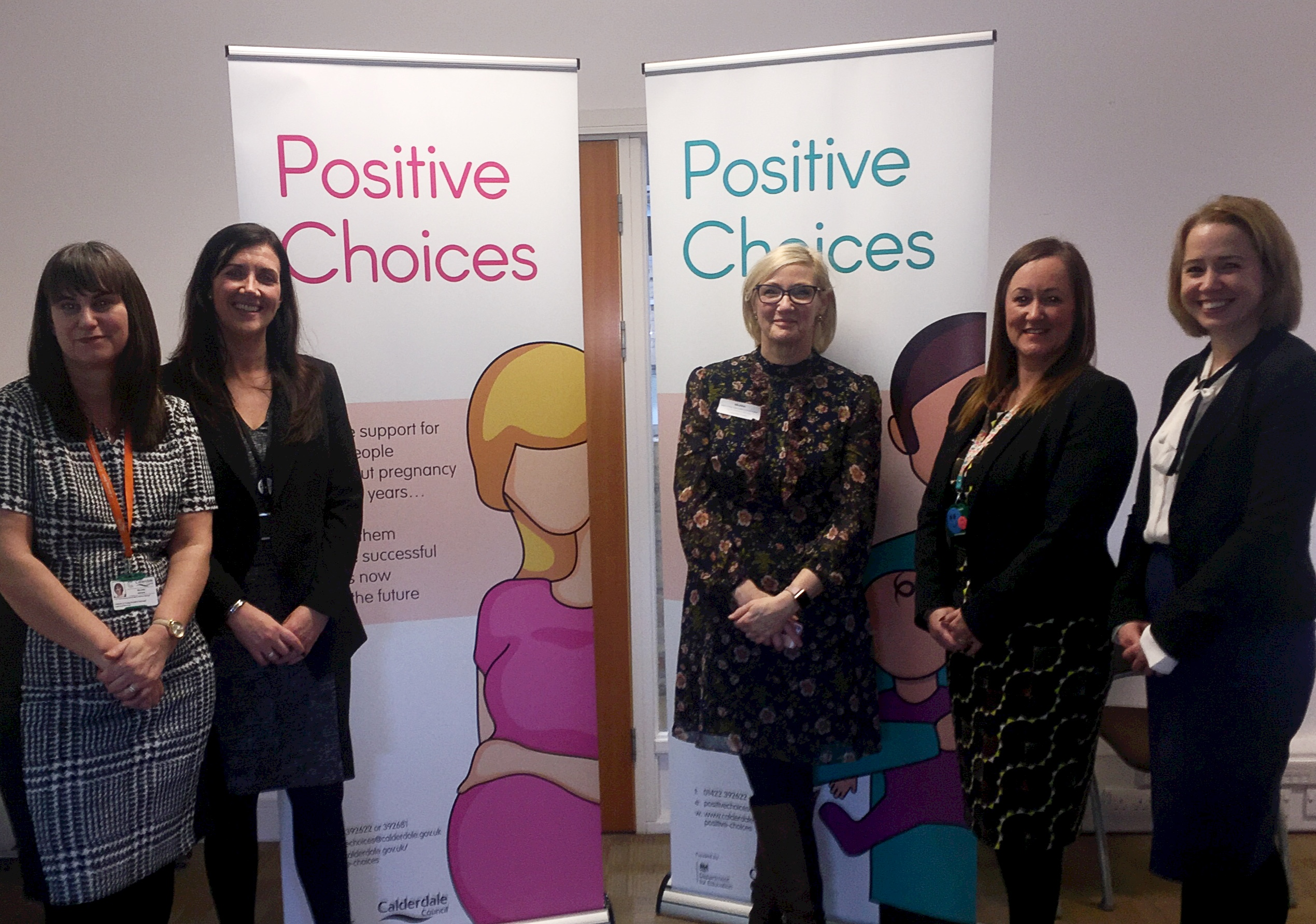 Positive Choices launch