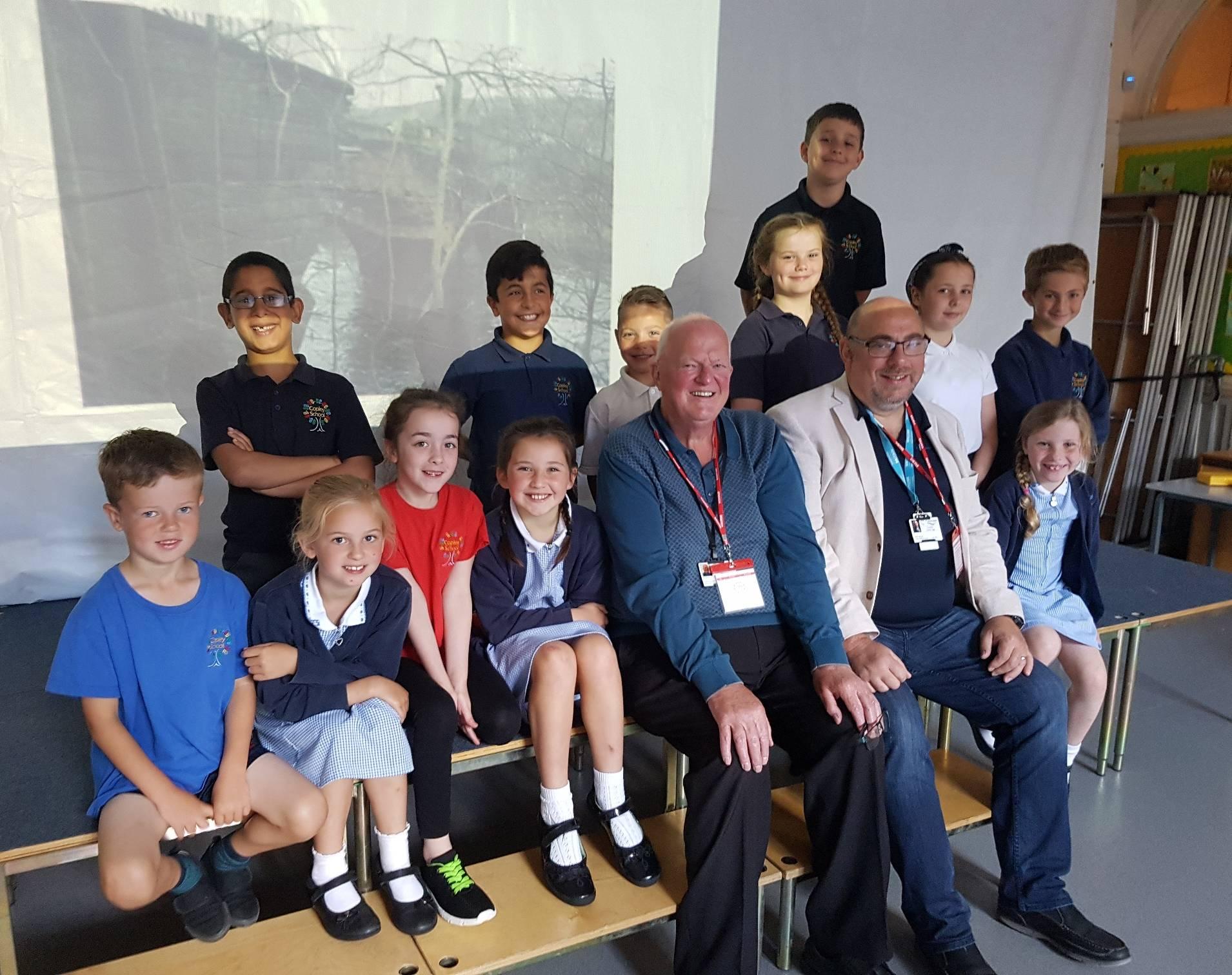 Copley School visit