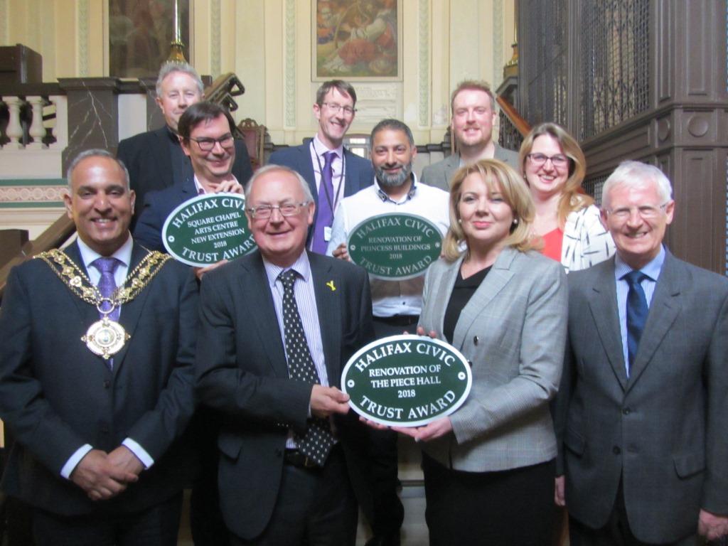 Piece Hall civic trust award