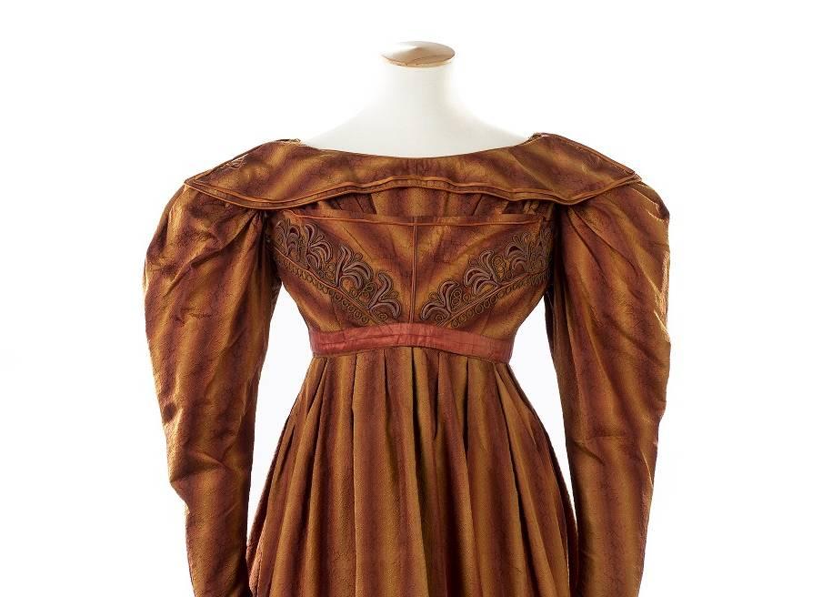 1820s dress