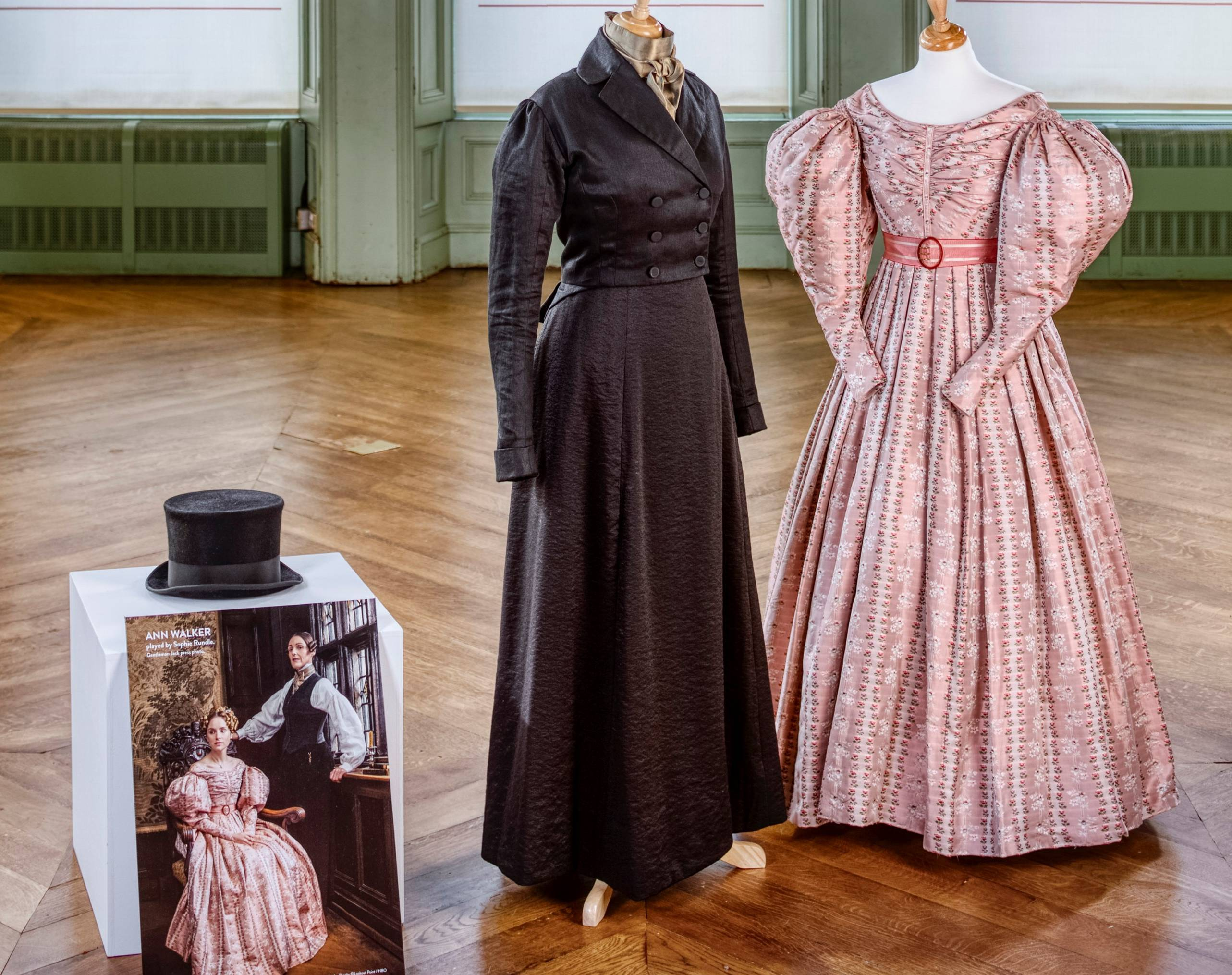 Gentleman Jack costumes at Bankfield Museum