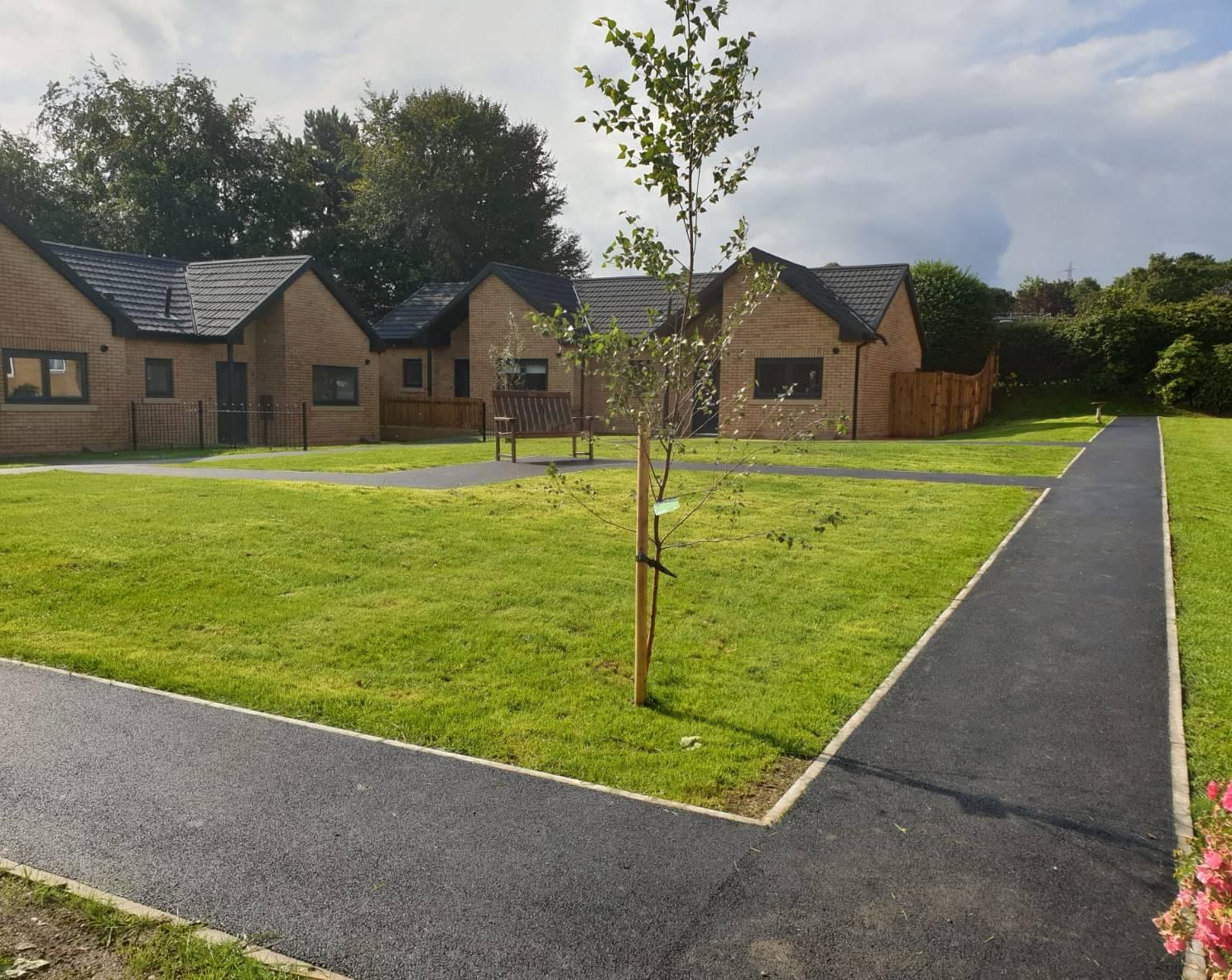 Ward Court housing development in Brighouse