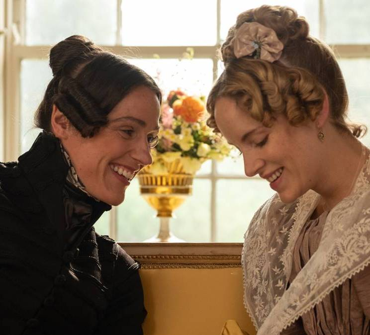 Anne Lister, played by Suranne Jones, and Ann Walker, played by Sophie Rundle