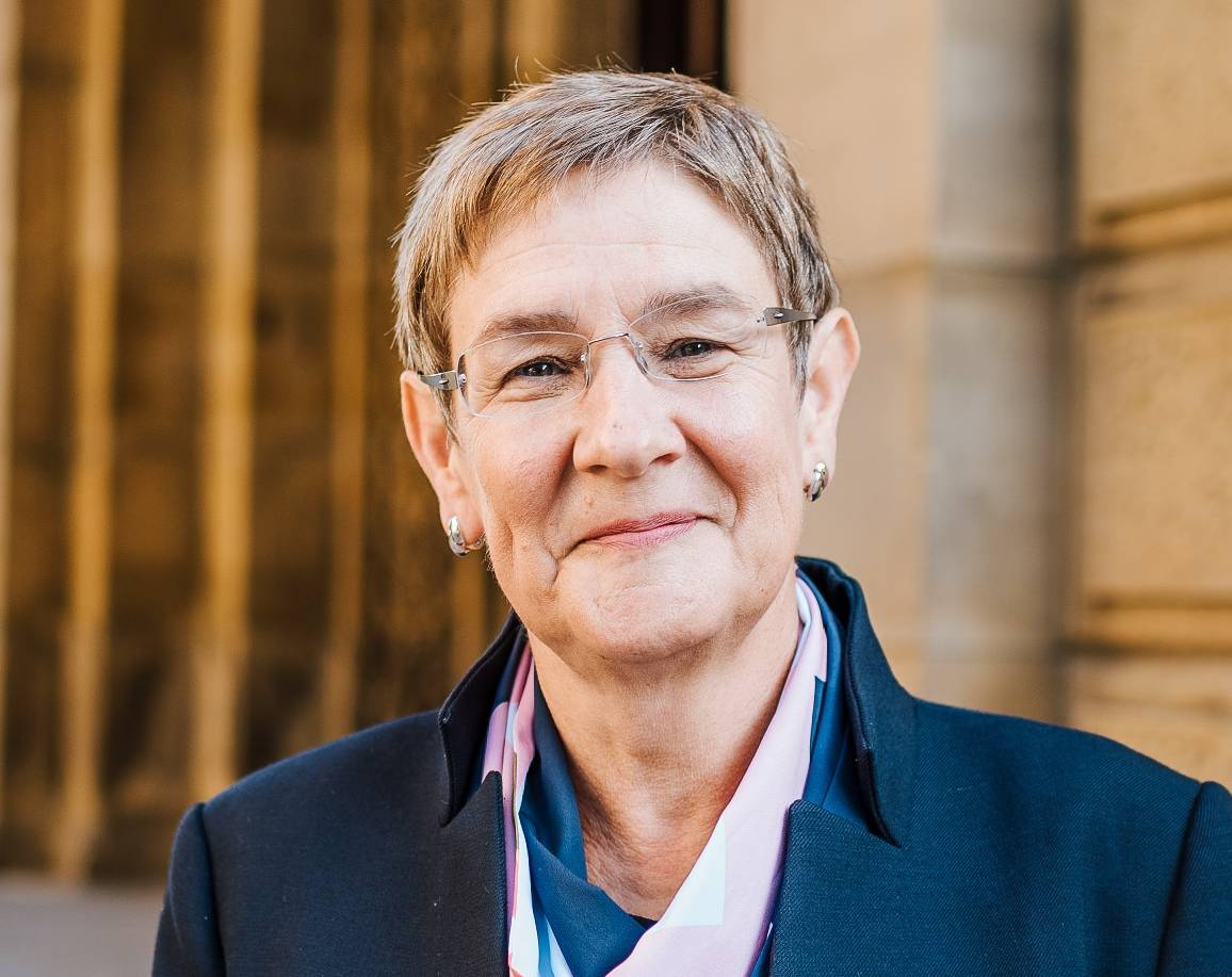 Cllr Jane Scullion, Calderdale Council's Cabinet Member for Regeneration and Resources