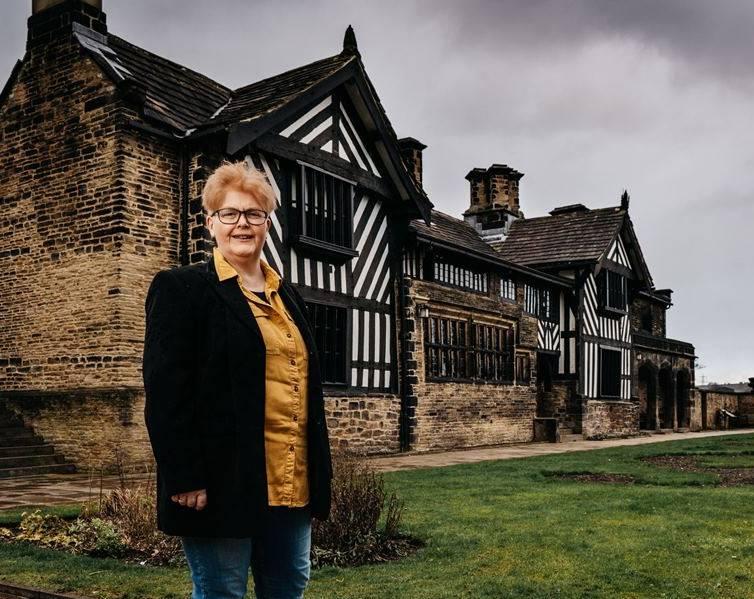 Sally Wainwright at Shibden Hall