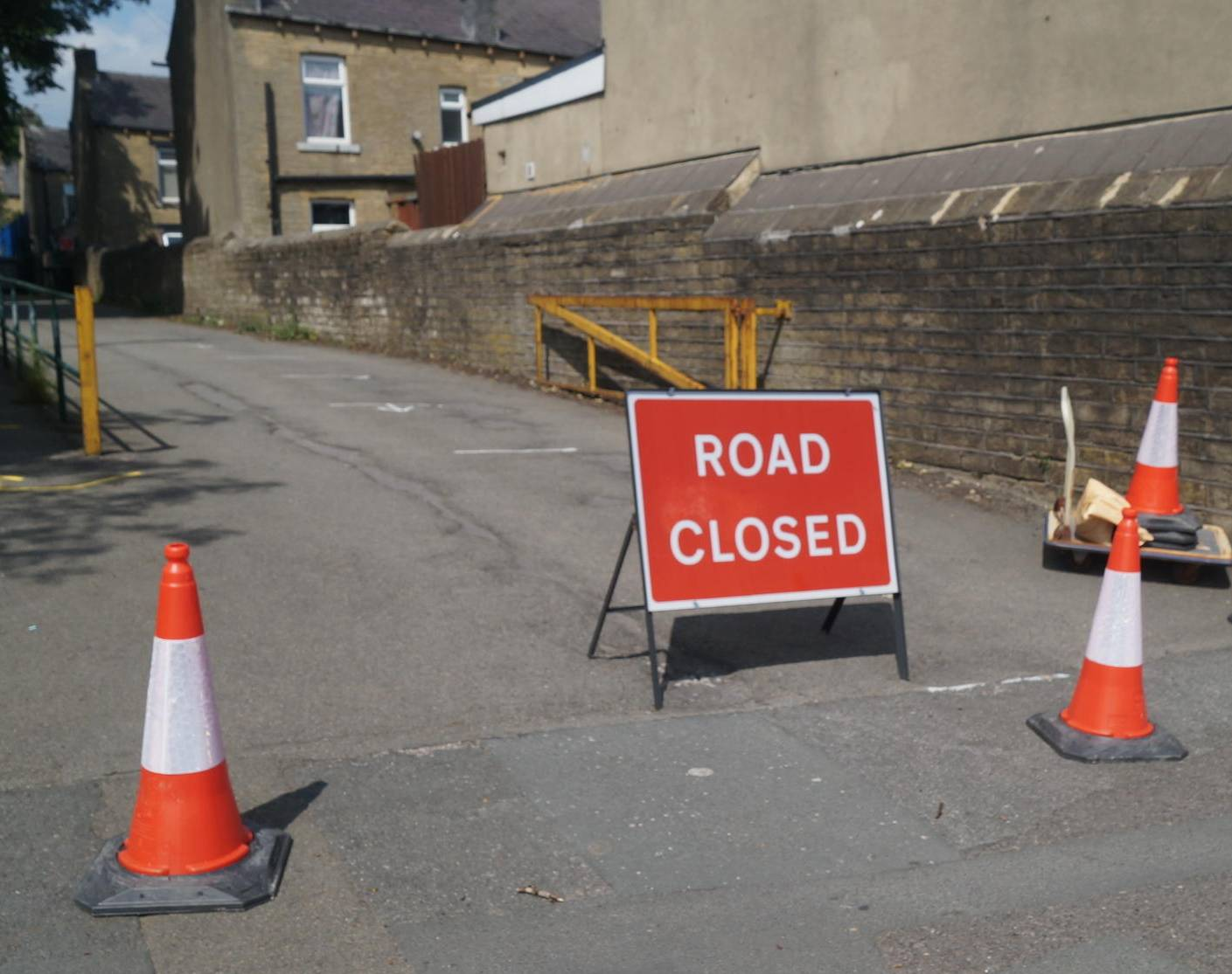 Road closure outside St Augustine's School