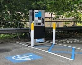 Electric vehicle chargepoint in Calderdale