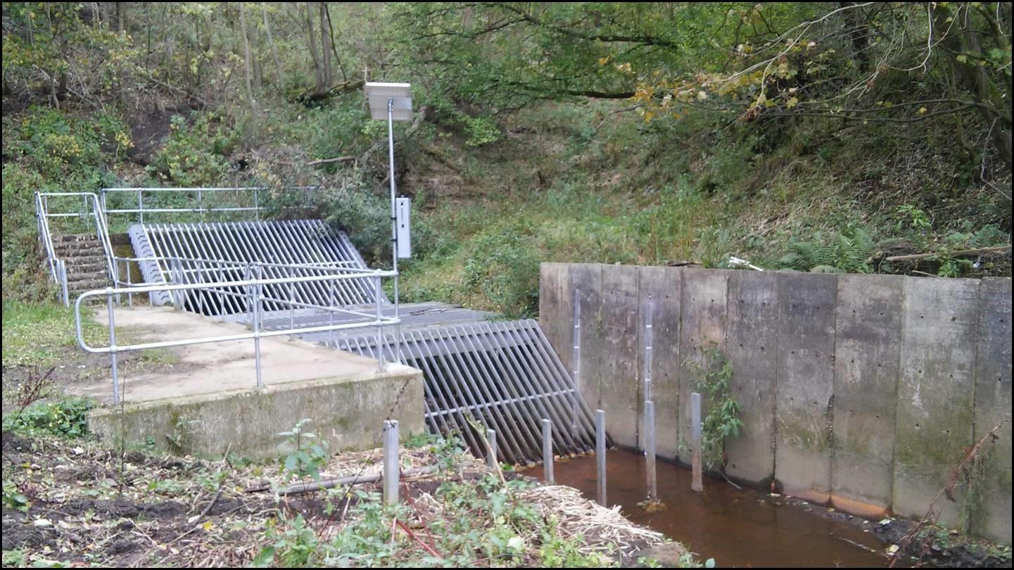 Monitoring at Hebble Brook