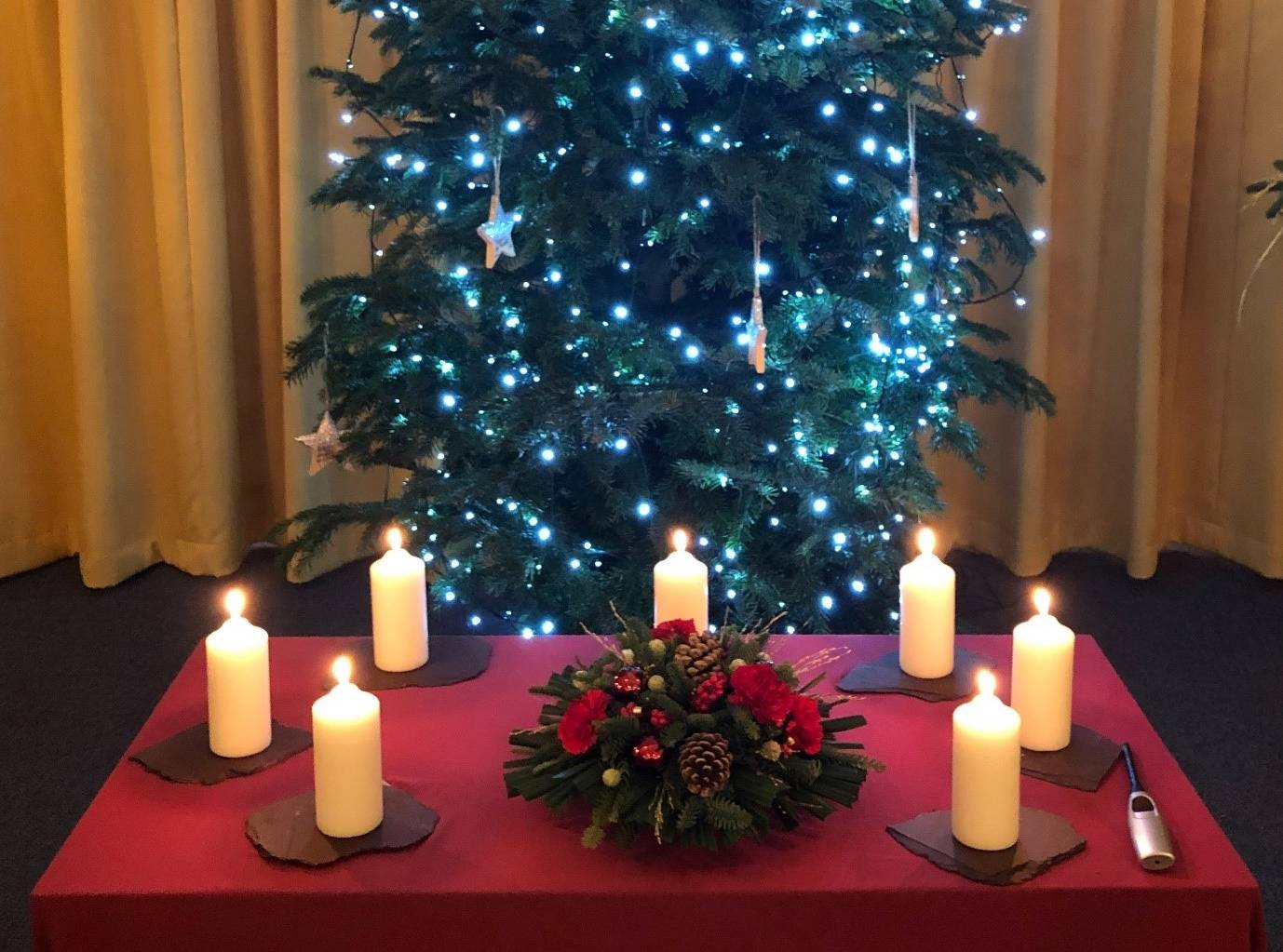 Tree and candles